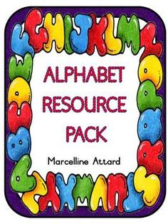 ALPHABET RESOURCE PACK:LETTER CARDS + GUIDELINES, PICTURES (INITIAL SOUND) & JIGSAW PUZZLE GAME