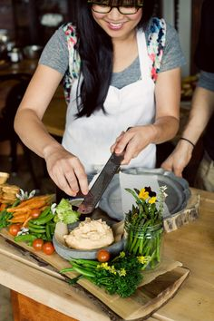 Oh Joy | Heirloom LA | Veggie Board | Photo by Bonnie Tsang