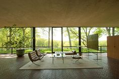 Philip Johnson, The Glass House