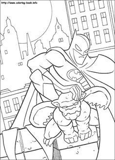 Batman With Criminal Coloring Picture. Who doesn't know Batman? Maybe all Dc fans and superhero movie fans must have heard at least this Batman figure. Batman is one of the most famous supe. Detailed Coloring Pages, Cool Coloring Pages, Free Coloring, Coloring Books, Kids Coloring, Batman Coloring Pages, Superhero Coloring, Batman Robin, Batman Drawing