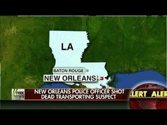 ▶ New Orleans Police Officer Killed During Suspect Transport - YouTube