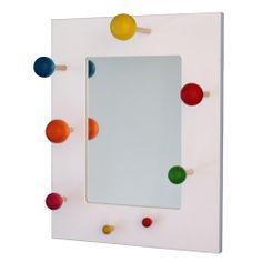 Aarikka: Keikari mirror, also available in black.On sale for 77,50 €. Size 35 cm x 43 cm. Wood. Visit www.aarikka.com