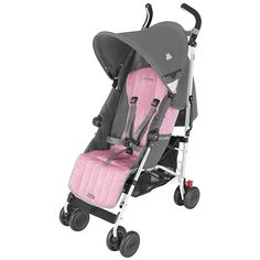 http://www.infanteducationaltoys.com/category/maclaren-quest/ Maclaren 2013 Quest Sport Stroller - Dove/Orchid Smoke