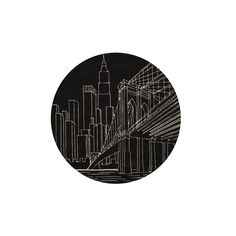Momeni Lil Mo Hipster Round Black Area Rug ($229) ❤ liked on Polyvore featuring home, rugs, fillers, photos, art, circle, backgrounds, borders, circular and picture frame
