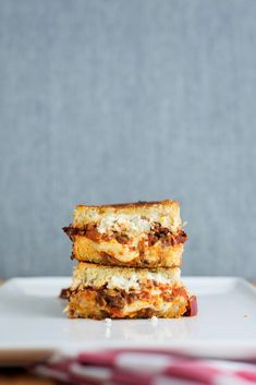 The Lasagna Grilled Cheese | bsinthekitchen.com