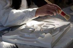 Laboratorio di discipline plastiche, ind. Arti figurative. Liceo artistico Stagi Pietrasanta (foto info@valentinaramacciotti.com).