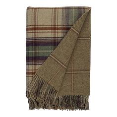 Teviot Throw from Johnstons of Elgin. Producing fine cashmere and woollens in Elgin, Scotland since 1797.