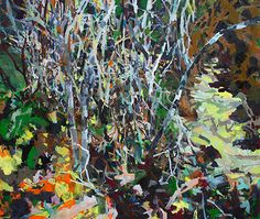 allison gildersleeve: paintings  Tangle - 68x80 oil 2013