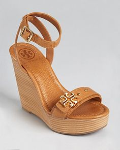 Tory Burch Sandals - Elina Wedge - Bloomingdale's $295