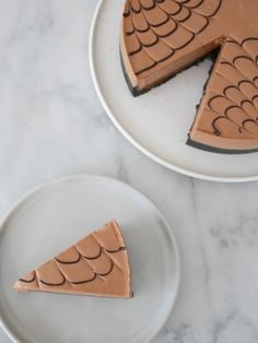 Mjölkchokladcheesecake med saltkolasås | Brinken bakar Fika, Coffee Time, Oreo, Tart, Nom Nom, Cheesecake, Food And Drink, Gluten, Sweets