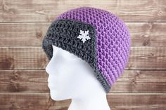 Cosmic Flapper Crochet Hat- This vintage beauty is a winter must!