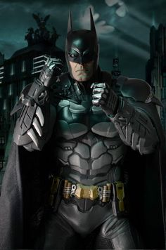 toyhaven: Check out the upcoming NECA Quarter Scale Batman: Arkham Knight tall action figure Batman Arkham City, Batman Arkham Knight, Im Batman, Batman Art, Batman Robin, Funny Batman, Batman Stuff, Gotham City, Ultimate Batman