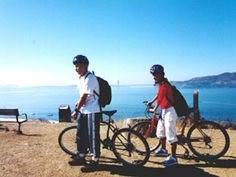 Take the ferry to Angel Island and bike the day away.