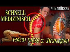 (17162) RUNDRÜCKEN WEGTRAINIEREN  endlich Körperhaltung verbessern mit diesen 2 Übungen - YouTube