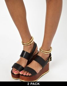 ASOS Wrapped Anklet Pack