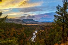 Yellowstone Sunset by Gabe O'Leary