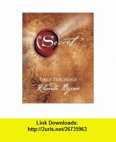 The Secret Daily Teachings Publisher Atria Rhonda Byrne ,   ,  , ASIN: B004T2A90Q , tutorials , pdf , ebook , torrent , downloads , rapidshare , filesonic , hotfile , megaupload , fileserve