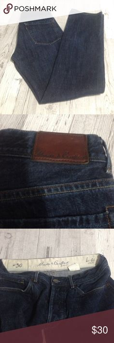 Levi's made & crafted jeans Levi's made & crafted jeans sz W30 no stain or rips Levi's Jeans Straight