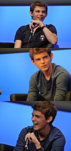 Robbie Kay the 3rd one tthough. he reminds of Thomas brodie sangster