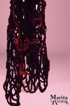 Marita Wrong - Crochet Art Handmade. New. Different. Wrong.