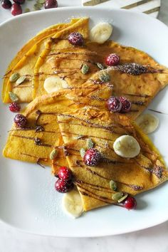 Pumpkin Crepes with Alouette Pumpkin Spice Cheese Baked Breakfast Recipes, Breakfast Bake, Brunch Recipes, Pumpkin Crepe Recipe, Pumpkin Recipes, Crepe Ingredients, Pumpkin Dessert, Pumpkin Pie Spice, Ground Beef Recipes