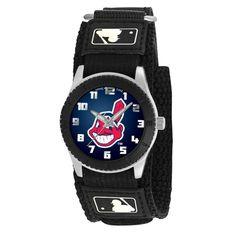Cleveland Indians MLB Kids Rookie Series watch (Black)