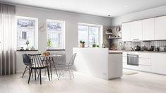 Offene Küche Weiß | Offene Küchen | Pinterest | Offene Küche, Küche Und  Rund Ums Haus