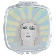 "Beauty Compact Mirror""Angel"" Design"" Compact Mirror"