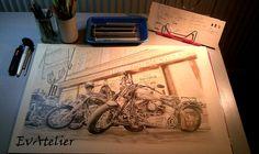 Harley-Davidson Legends reference photo Luboš Turek