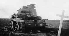Military Vehicles, Tanks, Abandoned, Battle, France, Models, Steel, Black, War