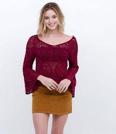 Blusa Cropped em Retilínea - Lojas Renner