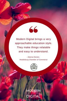 We LOVE hearing positive #reviews from our clients, and education is a core value for the team at Modern Digital. Knowing that our efforts to make #digitalmarketing approachable paid off and reminds us why we love what we do ❤️