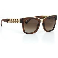 5300977b47 Chanel 5362 Square Sunglasses Tortoise Frame with Brown Polarized Lenses