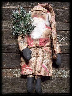 Primitive Old World Santa