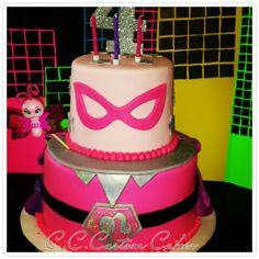 Barbie Princess Power cake www.facebook.com/c.c.customcakesinmoore