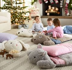 Camping ans sharing a sleeping bag? Read about the Aircee Queen Size Flannel Lined 2 Person Sleeping Bags before you buy any sleeping bag. Quilt Baby, Pottery Barn Kids, Baby Play, Baby Kids, Kids Sleeping Bags, Dog Sleeping, Kids Christmas, Floor Pillows, Gifts For Kids