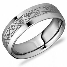 Crown Ring - Collections Alternative Metal Tungsten Carbide Tu 0008 9