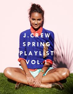 the (un)official J.Crew blog and playlists