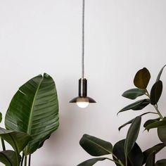 Aperture Bare Pendant – Allied Maker Industrial Style Lighting, Interior Lighting, Lighting Design, Pendant Lamp, Pendant Lighting, Grow Lights, Aperture, Light Bulb, Ceiling Lights
