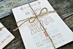 LOVE THE WORDING.  Wedding Invitation  Whimsical Rustic Tree teal by WideEyesDesign, $2.00