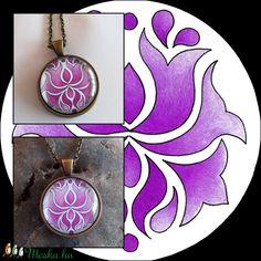 Tulipános nyaklánc (kedo) - Meska.hu Pocket Watch, Pendant Necklace, Accessories, Jewelry, Jewlery, Bijoux, Jewerly, Pocket Watches, Jewelery