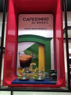 The POS was simply executed in this Nespresso store but of course a South American link makes perfect sense for coffee Perfect Sense, Pos, Nespresso, Olympics, Coffee, American, Store, Tableware, Link