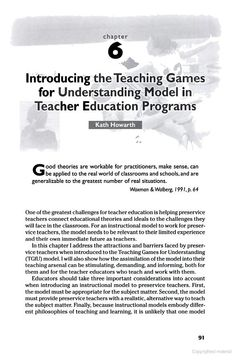 Teaching Games for Understanding: Theory, Reasearch, and Practice - Joy Butler - Google Books