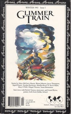Glimmer Train Magazine Winter 1992 Issue 1 Premier Issue Short Stories Literary