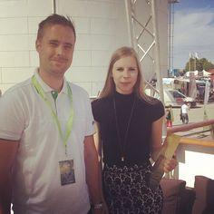 Hanna Wagenius, Centerpartiets ungdomsförbund vågar delta i debatten i #Almedalen. #våga