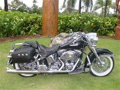 Harley Davidson Softail Deluxe #harleydavidsonsoftailheritage