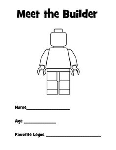 Printable and Customized Lego Master Builder Certificate