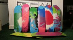 Pin it, Post it, or Tweet it and be one of the lucky kidults to win a spray painted skateboard by the PartyLayne crew.