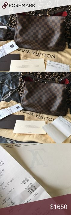 Trade? Louis Vuitton reggia Literally used less than 5 times! Excellent condition , comes with everything! Make me an offer or I'm open to trades  (Of course I can upload more pics)  100% authentic Louis Vuitton Bags Shoulder Bags
