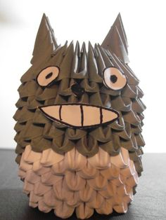 my neighbor totoro: 3d origami